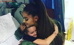 Ariana Grande visits fans injured in Manchester bombing