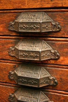 i would LOVE our kitchen cabinets to have these as pulls: Lettertype drawer handles