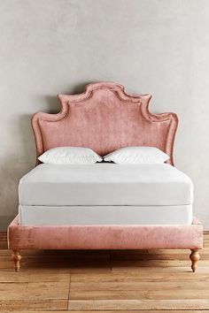 Slide View: 3: Slub Velvet Ainsworth Bed