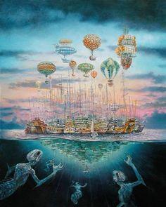 "Armada (""The Scar"", China Miéville)"