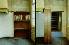 Anne Frank house:  interior Anne Frank House, Tall Cabinet Storage, Interior Design, Vacation Ideas, Amsterdam, Cities, Anna, Houses, Furniture