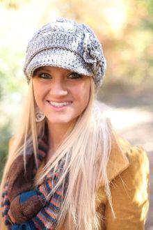 Gray Knit hat!