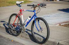 RITCHEY P-21 MOUNTAIN BIKE Classic Road Bike, Retro Bike, Mtb Bicycle, Old Bikes, Vintage Bikes, Street Bikes, Bike Stuff, Old Skool, Steel Frame