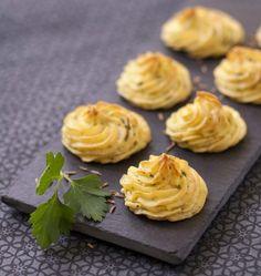 Pommes Duchesse au persil et cumin - Recettes de cuisine Ôdélices