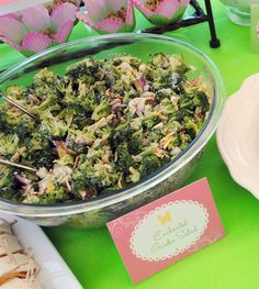 Itsy Belle: Garden Fairy Party Menu