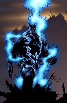 Red Hulk and Psylocke vs Skaar and Black Bolt - Battles - Comic Vine Comic Book Characters, Comic Book Heroes, Marvel Characters, Comic Character, Comic Books Art, Black Characters, Comic Villains, Arte Dc Comics, Marvel Comics Art