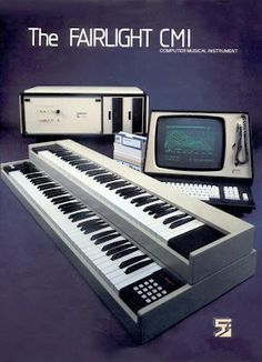 The Fairlight CMI #synth. One of the first (if not THE first) samplers.