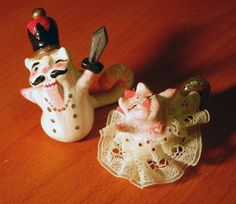 Crispy Kitty: Nutcracker Holiday Set. $30.00, via Etsy.