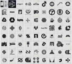 Retro logos posted by  swiss miss