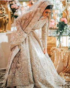 Looking for Bridal Lehenga for your wedding ? Dulhaniyaa curated the list of Best Bridal Wear Store with variety of Bridal Lehenga with their prices Asian Bridal Dresses, Asian Wedding Dress, Pakistani Wedding Outfits, Indian Gowns Dresses, Wedding Dresses For Girls, Lace Wedding Dress, Bridal Outfits, Bouquet Wedding, Wedding Nails