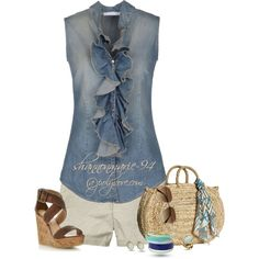 Summer Is Here :), created by shannonmarie-94 on Polyvore
