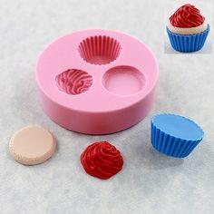 Kawaii Cupcake moule moule résine polymère cire par MoldMuse