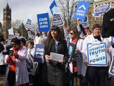 The March for Science could break stubborn stereotypes about scientists - The Washington Post  The march is aimed at anti-science politicians, but it could also be an effective professional recruiting tool.