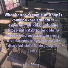 Autism and Common Core