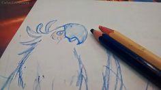 Dibujando para mi hija