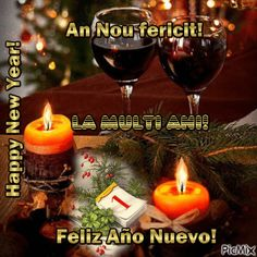 Feliz Año Nuevo!w3 An Nou Fericit, Anul Nou, Happy New, Red Wine, Alcoholic Drinks, Happy New Year, Alcoholic Beverages, Red Wines, Liquor