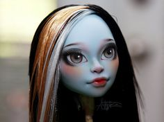 Monster High repaint  Monster High custom  Siren CAM by AshGUTZ, $100.00