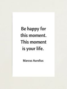 BE HAPPY FOR THIS MOMENT - STOIC QUOTE #philosophy Philosophical Quotes About Life, Letter Board, Philosophy, Life Quotes, In This Moment, Lettering, Happy, Quotes About Life, Quote Life