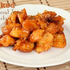 Baked Sweet and Sour Chicken Recipe...a definite date nite dinner nite recipie