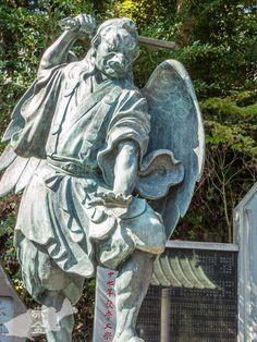 Japanese Culture, Japanese Art, Japan Illustration, Old Cemeteries, Dojo, Mythology, Samurai, Garden Sculpture, Sick