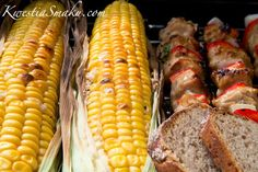 Kukurydza z grilla Healthy Recipes, Healthy Food, Grilling, Bbq, Food And Drink, Meat, Vegetables, Cooking, Events