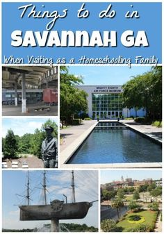 If you are a homeschool family heading to Savannah you want to make sure you don't miss these things to do in Savannah GA, they are perfect for homescooling!