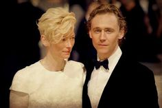 Fabulous picture of Tom and Tilda