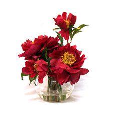 All Faux Florals - Flower: Peonies   Wayfair