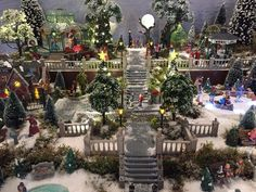 miniature christmas department 56 christmas village ceramic houses christmas villages christmas carol platforms villas scenery christmas decorations - Miniature Christmas Village
