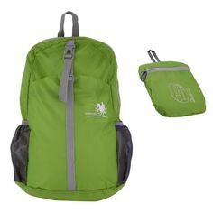 Sports Backpack Waterproof Hiking Bag Foldable Nylon Daypack Durable 30L  Rucksack Universal Outdoor Accessories - Walmart.com d4d5b7cd4480d