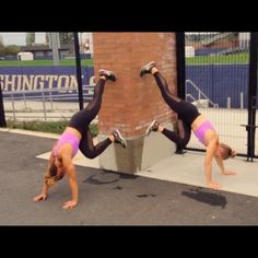 """3,841 Likes, 762 Comments - TwoBadBodies (@twobadbodies) on Instagram: """"TBB Style wall workout!"""""""