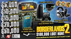 The Great Borderlands 2 Loot Hunt Begins Friday