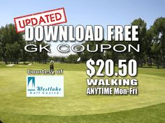 GK Coupon – Westlake Golf Course Tee Time Special