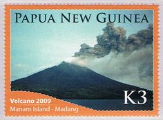 Papua New Guinea 2009, Manam volcano