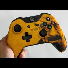 Breaking Bad Xbox One Controller via Reddit user DTOX_FTW