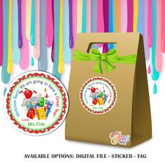 Personalized Back to School tag- Available as Stickers- Card paper Tags or Digital File Welcome Back To School, Birthday Thank You, Personalized Tags, Thank You Tags, Paper Tags, Stickers, Digital, Prints, Cards