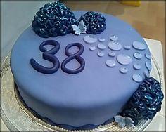 Tarta 38 cumpleaños
