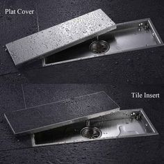 shower floor drain on sale at reasonable prices, buy AODEYI 304 Solid Stainless Steel 300 X Square Anti-Odor Floor Drain Bathroom Invisible Shower Floor Drain from mobile site on Aliexpress Now! Bathroom Drain, Shower Drain, Shower Floor, Bathroom Faucets, Sinks, Bathroom Design Small, Bathroom Interior Design, Shower Base Installation, One Piece Shower
