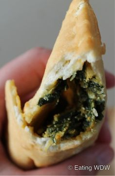 2012 Food & Wine South Africa: Spinach and Paneer Cheese Pocket