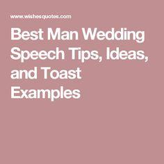 best man wedding essay