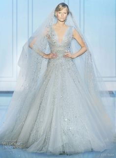 Elie Saab Wedding Couture Gown 2011-2012 Fall Collection