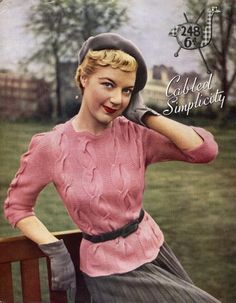 Chronically Vintage: How to wear pink (and not look like a little girl in the process! 1940s Fashion Women, Retro Fashion, Vintage Fashion, Womens Fashion, Vintage Couture, Retro Outfits, Vintage Outfits, Vestidos Pin Up, 1940s Woman