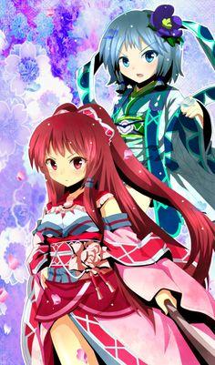 Puella Magi Madoka Magica | Kyouko Sakura | Sayaka Miki