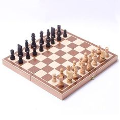 Foldable Wooden Chess Set // Price: $18.95 & FREE Shipping //  We accept PayPal and Credit Cards.    #boardgame #boardgamegeek #tabletopgaming #bgg #gencon #boardgames #tabletop #cardgame #cardgames #tabletopgames #battleship #game #bggcommunity #gaming #games #gamer #battleshipgame #dice #gamersofinstagram #gamerlife #gaminglife #cardgames #playingcards #magic #magician #magictrick #cardmagic