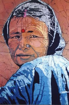 batik portraits done in batik - Google Search