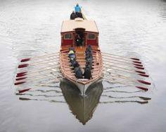 Gloriana Barge  britain boat