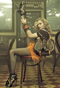 Madonna for Louis Vuitton ads,2009