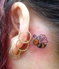 behind the ear tattoos | Makems » small tattoo behind ear Graphic