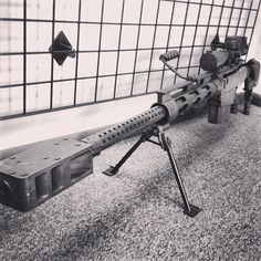 BORS on top a .50 BMG bushmaster.