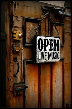OPEN. Live Music. Always.